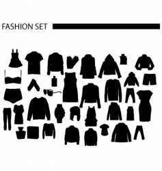 Fashionset vector