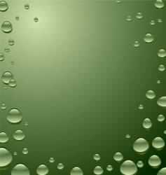 water surface green vector image