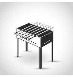 brazier flat icon vector image