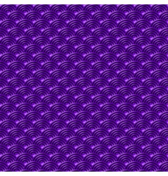 Chinese violet seamless pattern dragon fish scales vector