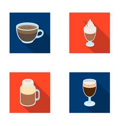 Esprecco glase milk shake bicerindifferent vector