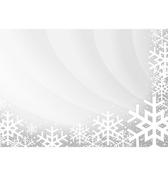 Gray Xmas Background vector image vector image