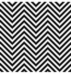 Monochrome elegant seamless pattern vector image vector image