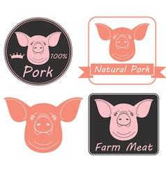 Pork vector image vector image