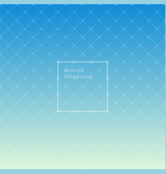 gradient sky blue colored triangle pattern vector image