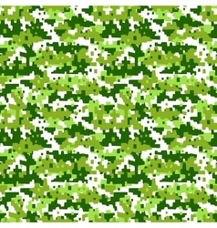 Military camouflage - seamless background vector
