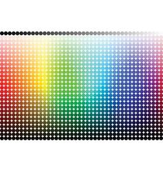 color pallete spectrum vector image