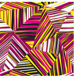 abstract geometric seamless pattern chaotic vector image vector image
