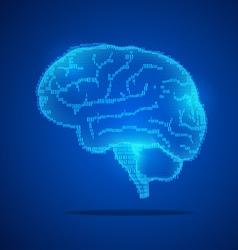 Brain preview vector