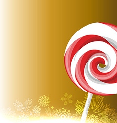 candy lollipop vector image