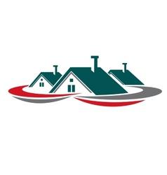Real estate symbol vector