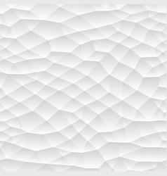 seamless polygonal mosaic gradient texture white vector image