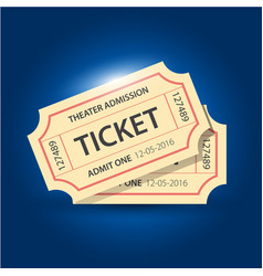 Set of eleven tickets and coupons templates vector