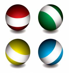 White band orb vector