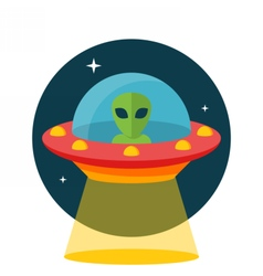 Ufo unidentified flying object vector