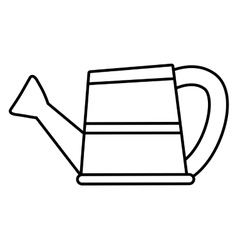 Watering can icon gardening design vector