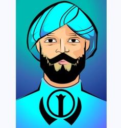 Islamic men vector image vector image