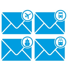 Mail transportation vector