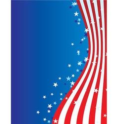 patriotic america vector image
