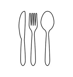 Cutlery related icons image vector