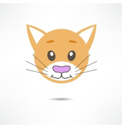 Cat smiles vector