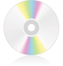 cd dvd vector image