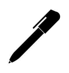 pen write object pictogram vector image