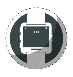 Smartwatch button thumbnail icon image vector