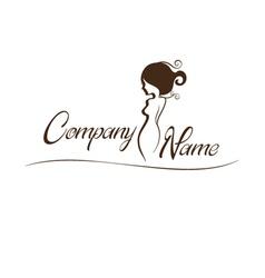 Lady Logo vector image