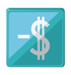 Money symbol isolated icon design vector