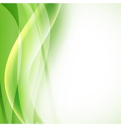 Green background folding vector