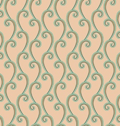 Mint leaves pattern vector