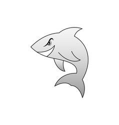Shark-380x400 vector