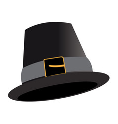 traditional hat icon vector image