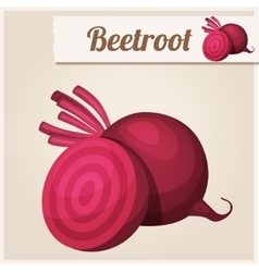 Beetroot Detailed Icon vector image