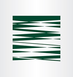 Dark green abstract background design vector