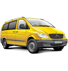 Germany light van vector image vector image
