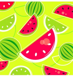 melon summer background vector image vector image