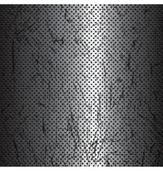 Scratched metal texture vector