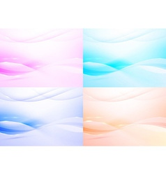 Transparent modern background - collection vector image