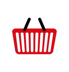 Shopping basket market store buy icon vector