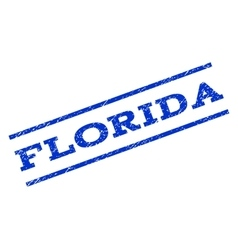 Florida watermark stamp vector
