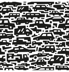 Cars motion - seamless background vector
