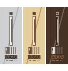 coffee box vector image