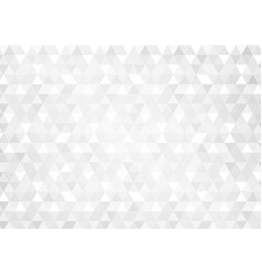 Abstract background with grey glowing triangles vector