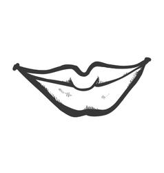 Female lips icon mouth design graphic vector
