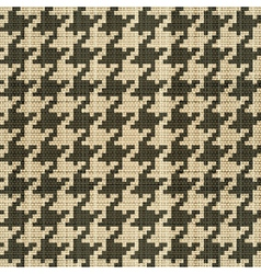 hounds tooth vector image vector image