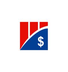 Money business finance company logo vector