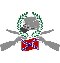Glory of confederacy vector