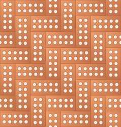 Brick pattern background vector